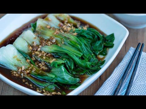 'Pak choi' con salsa de ostras | Sabor de Asia