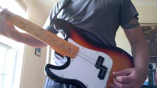 New song on the 2 string slide Bass by Ian Lacombe