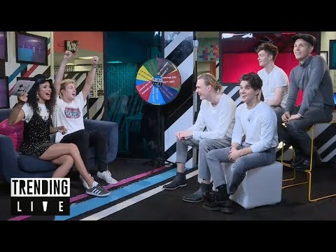 The Vamps get Wheely Personal | Trending Live