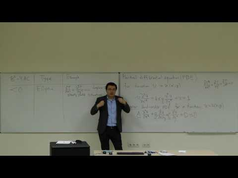 Computational Physics Lecture 26, Introduction to Partial Differential Equations.
