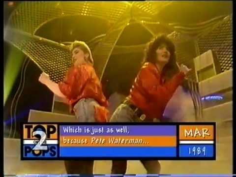 Reynolds Girls - I'd Rather Jack - Top Of The Pops - Thursday 9th March 1989