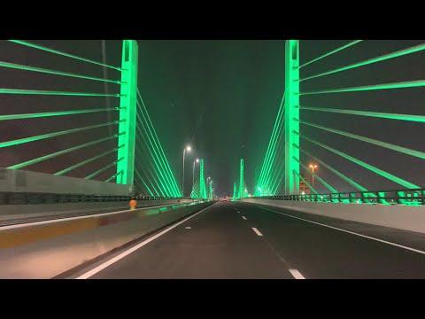 QATAR'S FIRST CABLE BRIDGE | Doha | Qatar | FRS MusiC | HD Video
