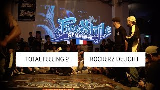 Rockerz Delight vs Total Feeling - Finał 2vs2 na Freestyle Session France 2018