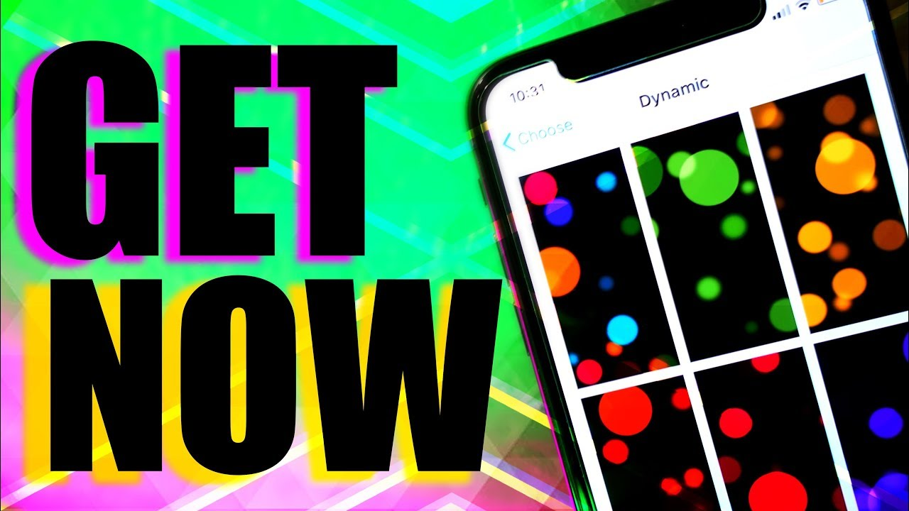 HOW TO GET IPHONE X DYNAMIC EXCLUSIVE WALLPAPERS FOR ANY IPHONE/IOS DEVICE  / IPHONE X LIVE WALLPAPER