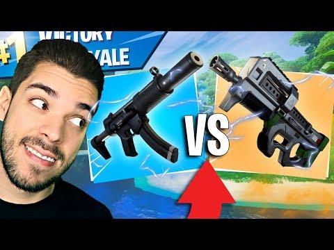 LA MEILLEURE ARME SUR FORTNITE SAISON 8 ? P90 VS MP5 - GAMEPLAY