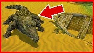 СИМУЛЯТОР КРОКОДИЛА в ИГРЕ Crocodile Family Sim Online