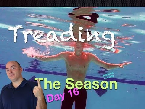 Treading Water Swim Lesson 'The Season Day 16' Helpful tips on how to swim #swimlesson #treading