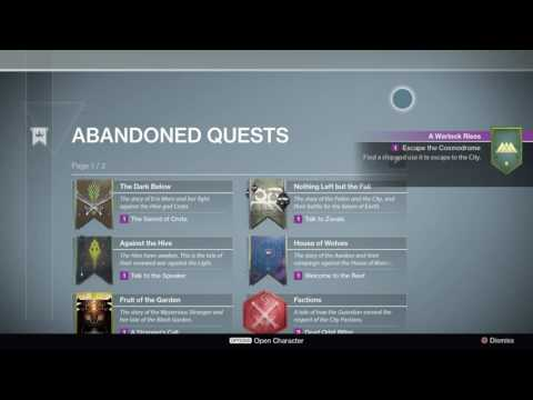 Abandon quest line ( alternative ) fix