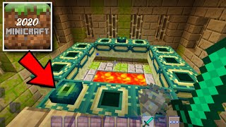 MiniCraft 2020 - How to Find EndPortal in Minicraft screenshot 4