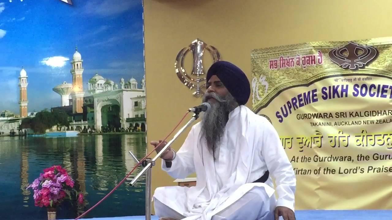 3 times WAHEGURU meaning in ARDAS. Giani Pinderpal Singh ...