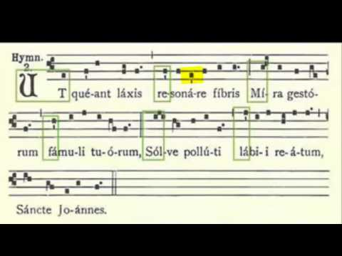 Traditional music notation was created as VISUAL