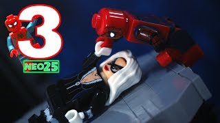 Lego Spider-Man Stop Motion Series Episode 3 Spider-Man meets Black Cat