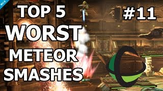 Top 5 WORST Meteor Smashes - Super Smash Bros. Wii U