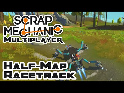 Designing The Half-Map Racetrack - Let
