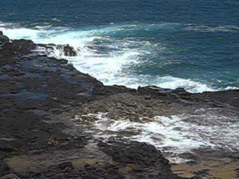 Spouting Horn Geyser Hawaii