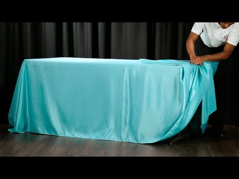 60 Second Drape Tie for Rectangular Tablecloths