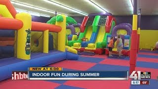 Indoor fun for kids during the summer