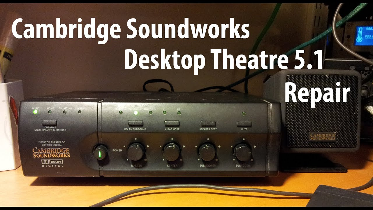 Cambridge SoundWorks Desktop Theater DTT - speaker system - for PC Specs