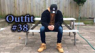 AF1 Flax Fit | OOTD #38 | Nike Air Force 1, Represent, ASOS Oversize Denim Jacket