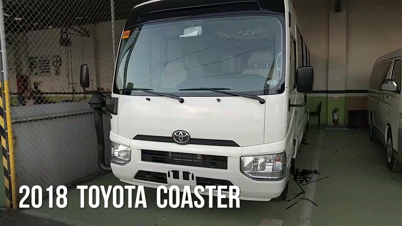 2018 Toyota COASTER (Philippines)