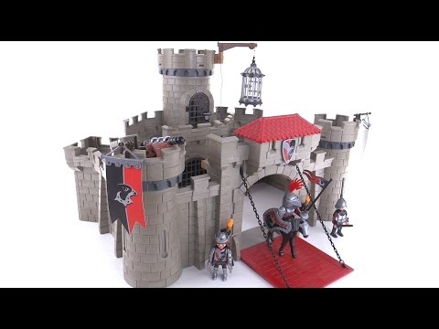 Playmobil 2015 Hawk Knights Castle review! set 6001