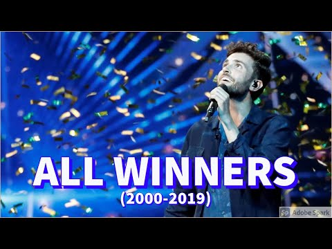 ALL WINNERS (2000-2019) | Eurovision Song Contest