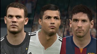 PES 2015 FIFA Ballon D'Or nominees Facepack + How to install Thumbnail