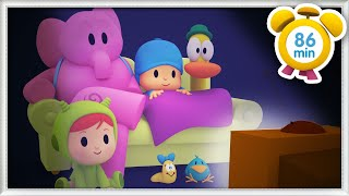 🍿 POCOYO in ENGLISH - Lazy Afternoon [86 min] | Full Episodes | VIDEOS and CARTOONS for KIDS