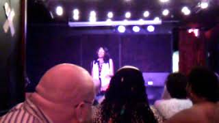 KC Poet Camile Performing at Brown Sugar Cabaret Burlesque Show