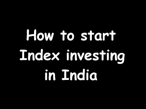 how-to-start-index-investing-in-india