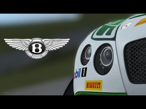 Introducing the Bentley Continental GT3 2017