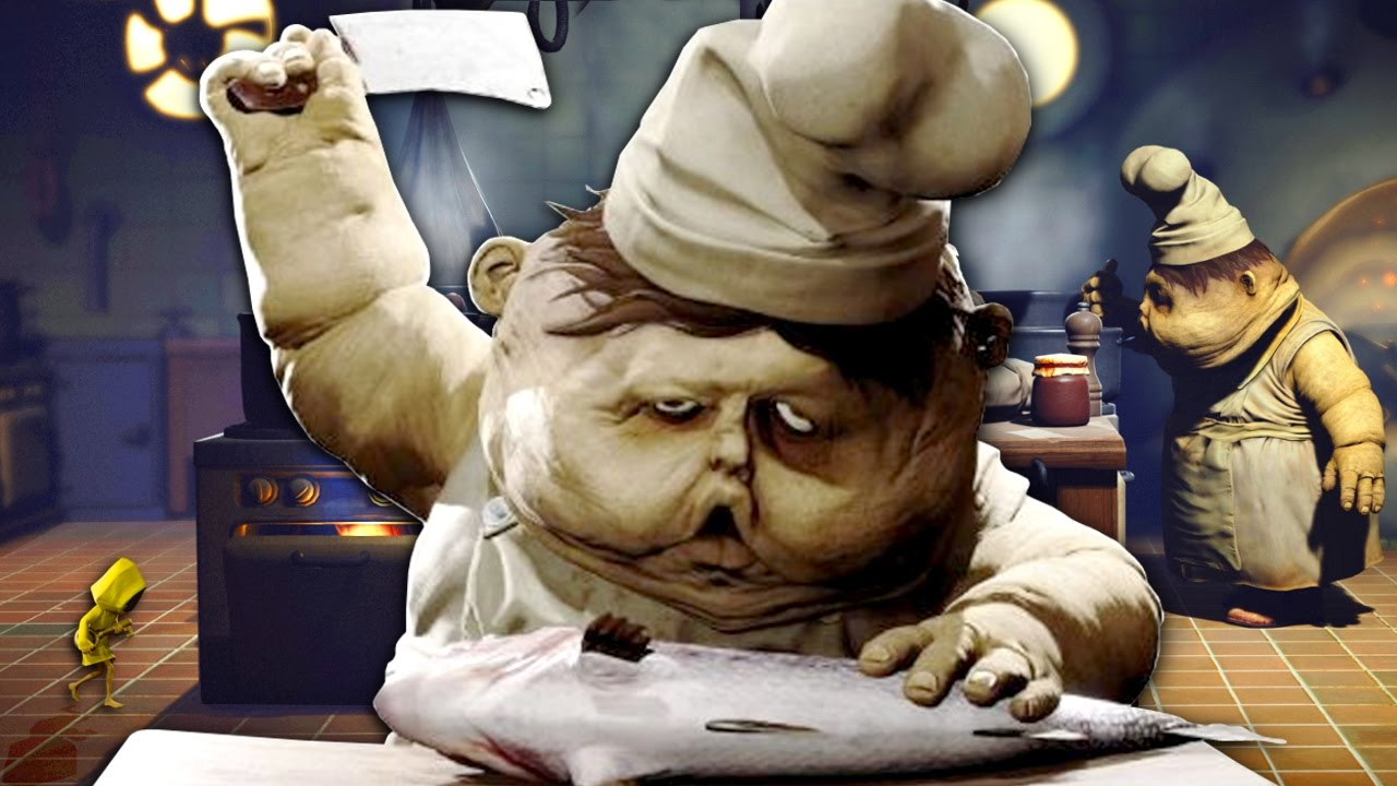 Little Nightmares How To Get By The Kitchen