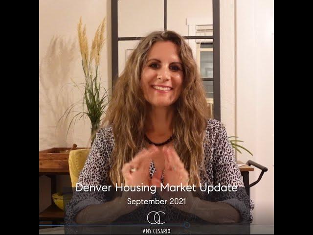 Denver housing Market Update September 2021