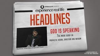 God is Speaking   Troy Brewer  Headlines
