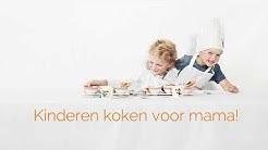 Moederdag: kinderen koken voor mama!