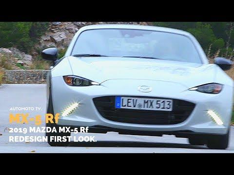 2019 Mazda MX-5 Rf Nappa Leather, Twin Tone Roof   Design & Impressions.