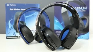 Sony Platinum Wireless Headset Vs Gold Headset : Worth the extra $60?