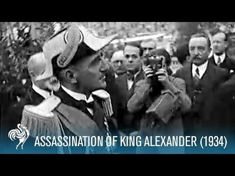 Assassination Of King Alexander (1934)