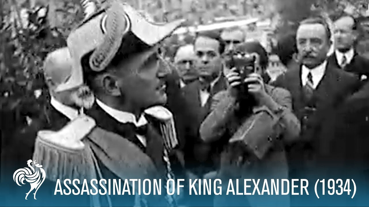 Assassination of King Alexander I of Yugoslavia & Louis Barthou (1934) | British Pathé
