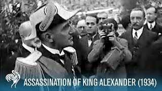 Assassination Of King Alexander 1934