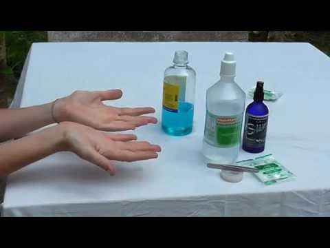 How To Do A Colloidal Silver Wound Dressing