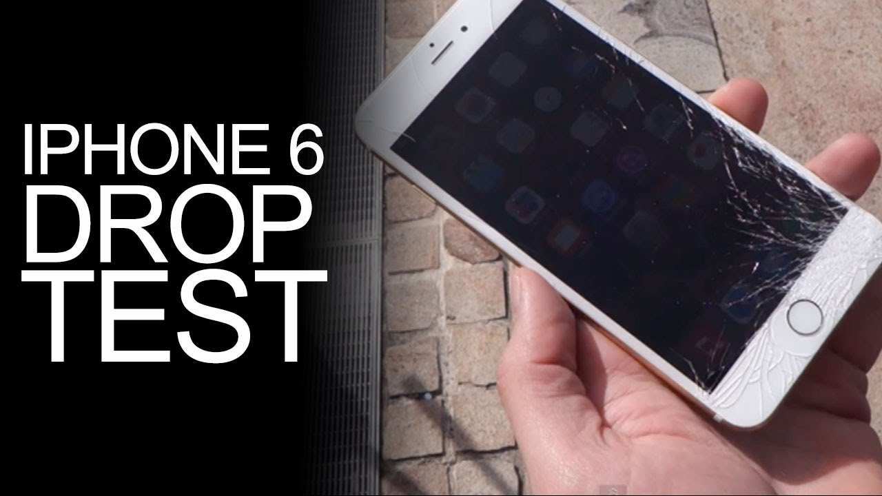 iphone drop test iphone 6 drop test review iphone 6 sold dropped on 11808