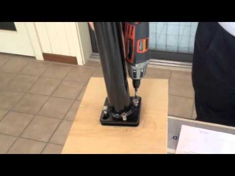 EzTech Tip 5 How to install a Color Guard Leveling Post