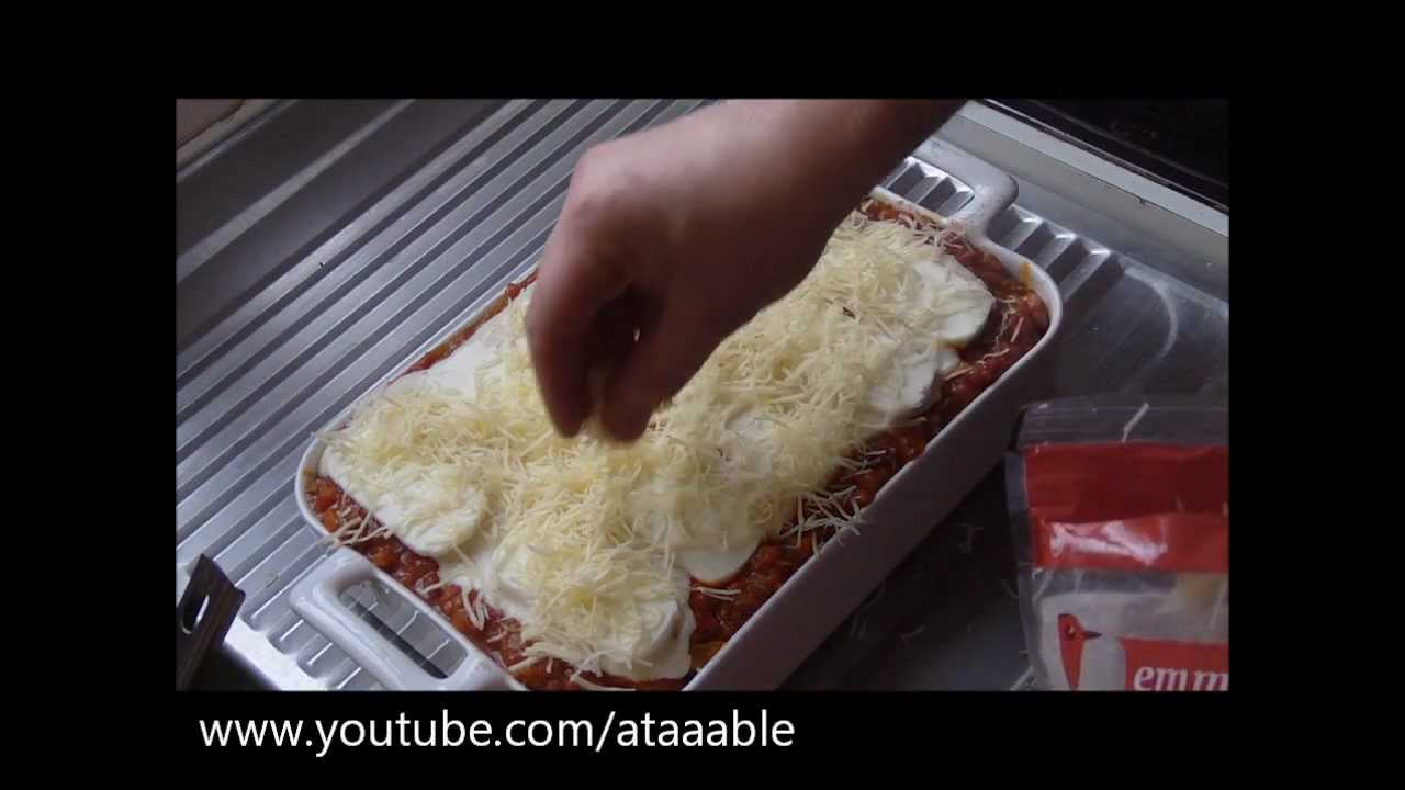 Cuisine italienne les lasagnes youtube - Youtube cuisine italienne ...