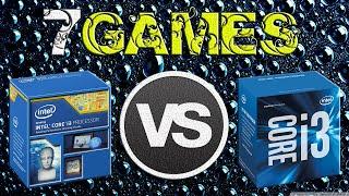 i3-4160 vs i3-6100 | GTX 970 OC | 2560 x 1440 | in 7 games