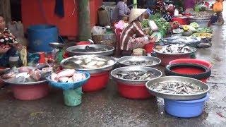 Chợ Rạch Sỏi Kiên Giang nét đặc trưng chợ miền tây.(market in viet nam)