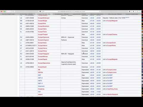 Horrible UX: Selecting Time Zone in Google Calendar & Apple Calendar