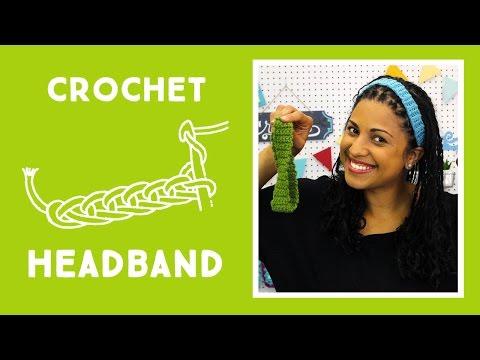 Crochet Headband: Easy Craft Tutorial with Vanessa of Crafty Gemini Creates