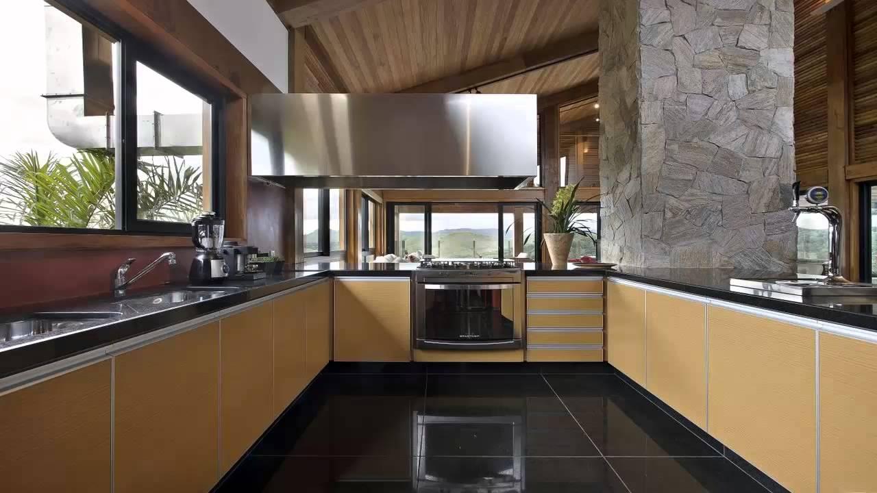 cuisine bois noir