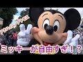 かわいいアメリカミッキー〜ディズニーランドアナハイムのバンドアトモス〜